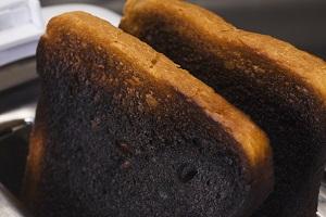 Сгоревший хлеб